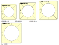 Simple Circles Westalee Design Templates