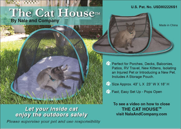 The Cat House Outdoor Pet Enclosure