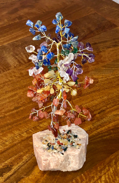 Chakra Gem Tree - Willow Tree Soul Gifts