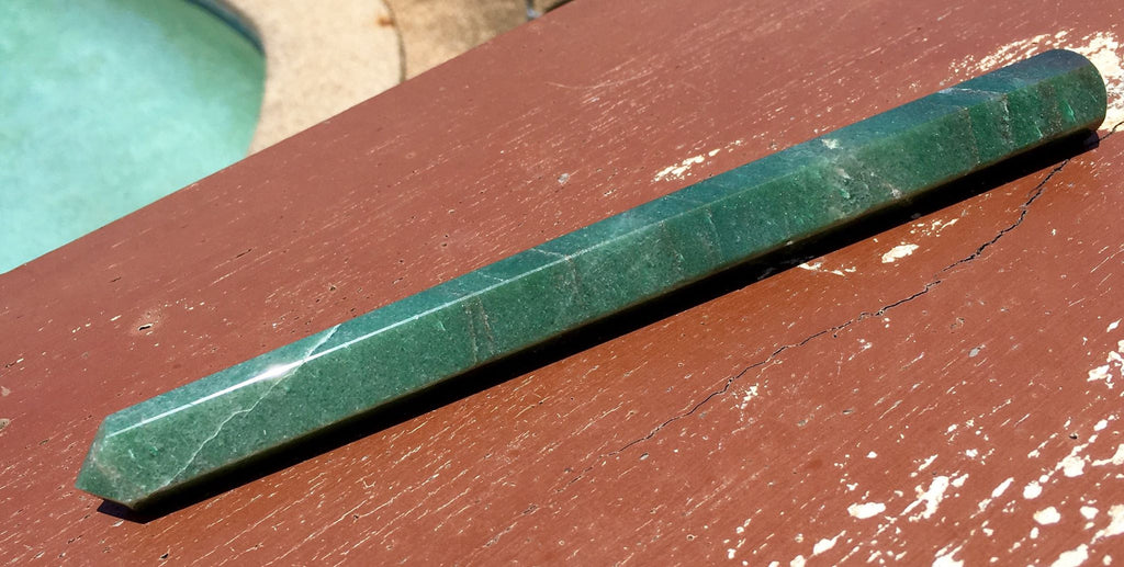 Green Aventurine Healing Wand - Willow Tree Soul Gifts