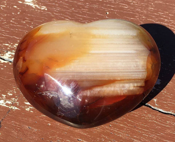 Carnelian Heart - Willow Tree Soul Gifts - 1