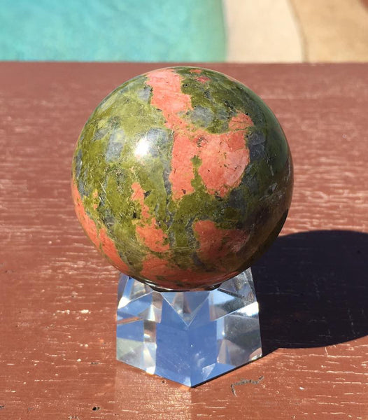 Unakite Sphere - Willow Tree Soul Gifts