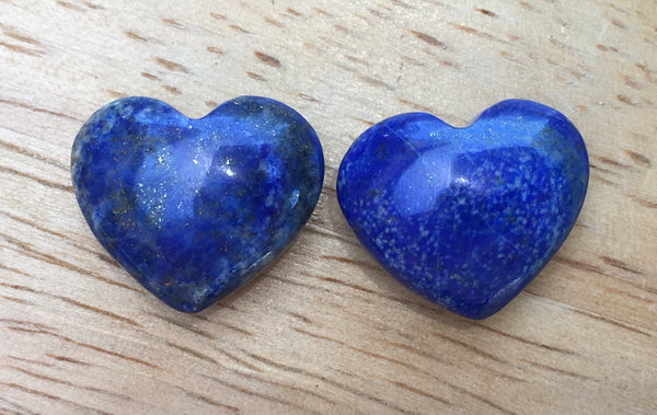 Lapis Lazuli Pocket Hearts - Willow Tree Soul Gifts - 1