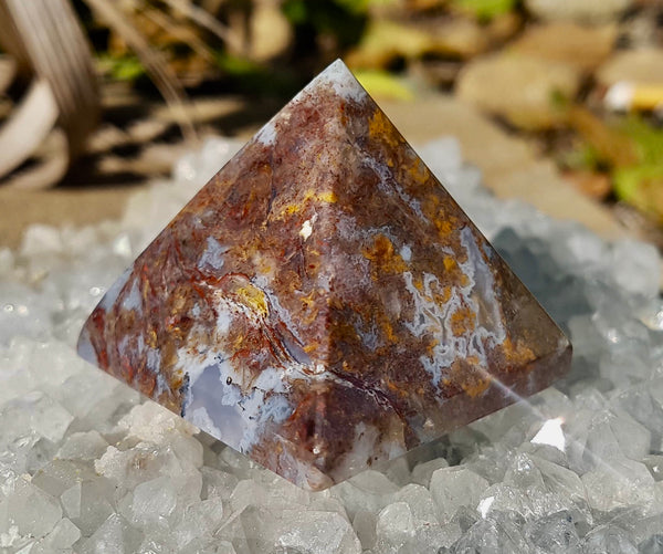 Pietersite Pyramid - Willow Tree Soul Gifts - 3