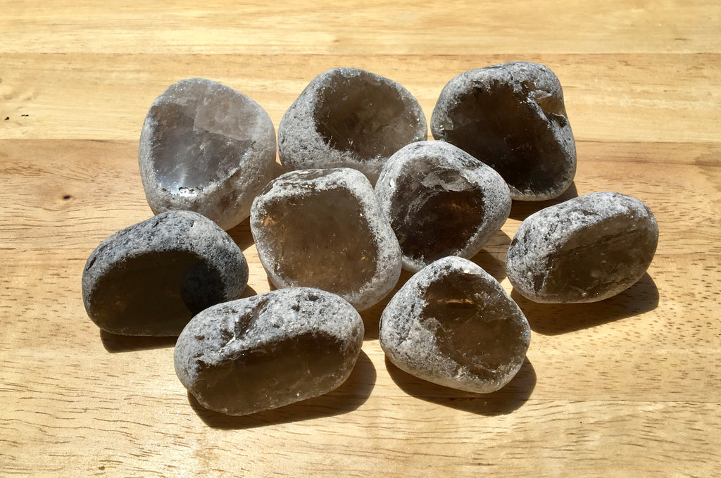 Smokey Quartz Seer Stones - Willow Tree Soul Gifts - 1