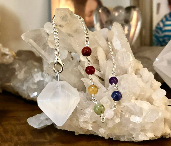 Selenite Pendulum - Willow Tree Soul Gifts - 2