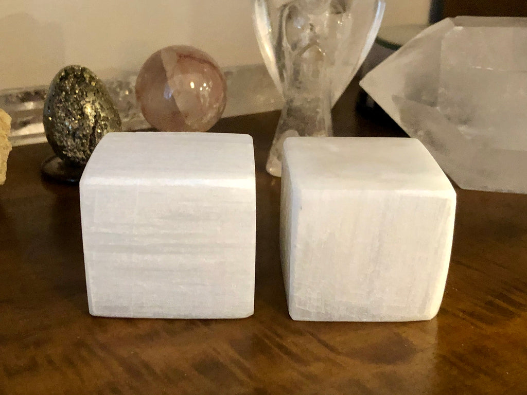 Selenite Charging Blocks - Willow Tree Soul Gifts - 1