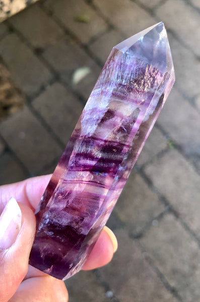 Fluorite Point - Willow Tree Soul Gifts - 5