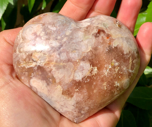 Flower Agate Heart - Willow Tree Soul Gifts - 2