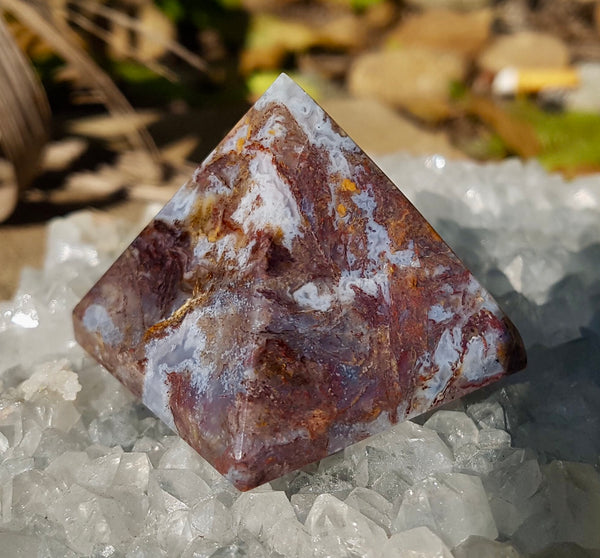 Pietersite Pyramid - Willow Tree Soul Gifts - 1