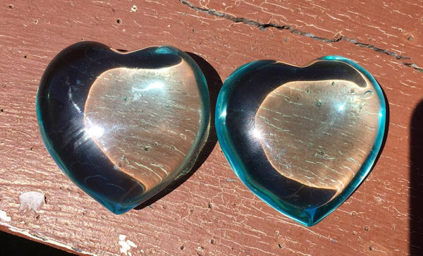 Blue Obsidian Heart - Willow Tree Soul Gifts