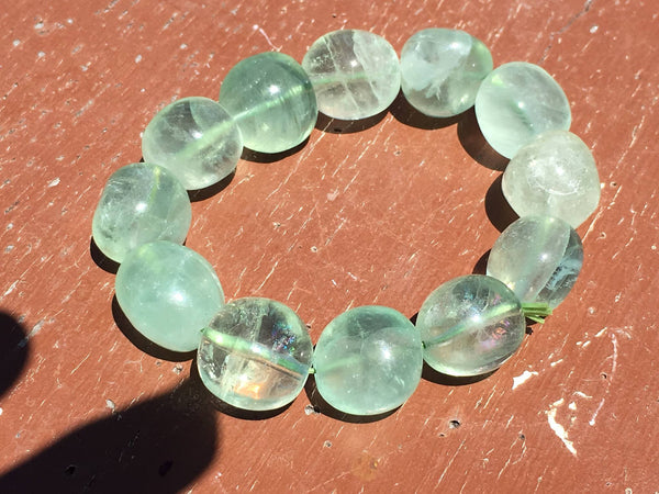 Fluorite Bracelet Green - Willow Tree Soul Gifts