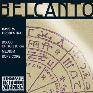 Thomastik Belcanto Upright Bass Strings