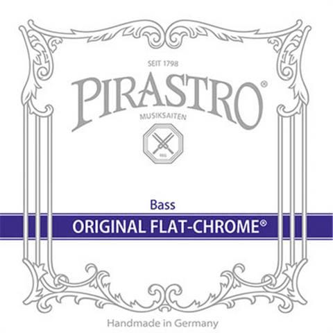 Pirastro Original Flatchrome Upright Bass Strings