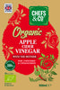CHEFS & CO Organic Apple Cider Vinegar | with The Mother | Glass Bottle | 100% Raw | Unfiltered | 5% Acidity
