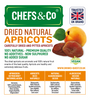 CHEFS & CO DRIED APRICOTS (UNSWEETENED) -750g | carefully dried and pitted apricots | 100% natural | premium quality | no additives, non-sulphured and without sugar