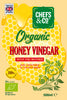 CHEFS & CO Organic Honey Vinegar | with The Mother | Glass Bottle - 500 ml | Unfiltered | 5% Acidity |