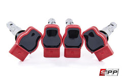 Ignition Coil Packs, Volkswagen / Audi - Set of 4 (RED)