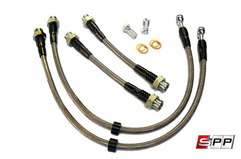 USP Motorsports Brake Line Kit, Volkswagen Mk1 and Audi TT, Stainless Steel at Sequential Performance Parts for $ 84.99