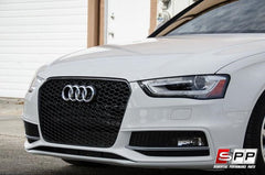 Aggressiv RS4 Front Bumper Grille, Mesh Style, Blackout, Audi B8.5 A4/S4 2013+ at Sequential Performance Parts for $ 254.99