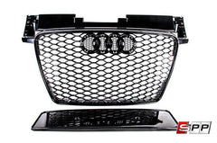 Aggressiv Front Bumper Grille, TTRS Blackout Mesh Style, Audi TT 2008+ at Sequential Performance Parts for $ 254.99
