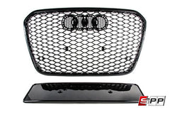 Aggressiv RS6 Front Grille, Blackout Mesh Style, Audi C7 A6/S6 at Sequential Performance Parts for $ 276.99