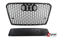 RS7 Bumper Grille, Blackout Mesh Style, Audi C7 A7/S7 at Sequential Performance Parts for $ 276.99