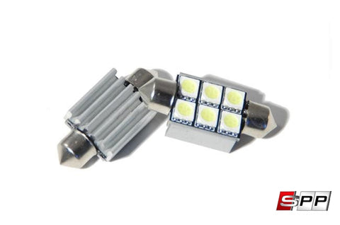 Porsche 996 RFB License Plate LED Lights at Sequential Performance Parts for $ 25.99
