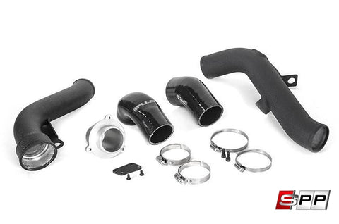 Spulen Boost Tube Kit, For 2.0TSI, with Turbo Muffler Delete at Sequential Performance Parts for $ 294.99