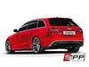 Akrapovic 12-15 Audi RS4 Avant (B8) Evolution Line Cat Back (Titanium) w/ Carbon Titanium Tips