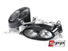 Akrapovic 10-15 Audi RS5 Coupe (B8) Evolution Line Cat Back (Titanium) w/ Carbon Titanium Tips