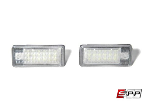 License Plate LEDs Audi A3 Complete Set at Sequential Performance Parts for $ 41.99