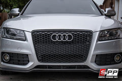 Aggressiv RS5 Front Bumper Blackout Mesh Style Grille, Audi B8 A5/S5 (08-2012) at Sequential Performance Parts for $ 254.99