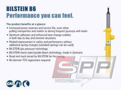 Bilstein B6 1997 Audi Cabriolet Base Rear Shock Absorber