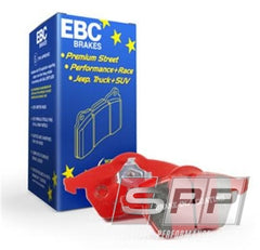 EBC 06-13 Audi A3 2.0 Turbo (Girling rear caliper) Redstuff Front Brake Pads
