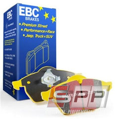EBC 06-13 Audi A3 2.0 Turbo (Girling rear caliper) Yellowstuff Rear Brake Pads