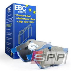 EBC 06-09 Audi RS4 4.2 (Cast Iron Rotors) Bluestuff Rear Brake Pads