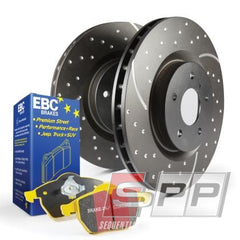 1 x ebcDP42075R EBC 10-13 Audi A3 2.0 Turbo (Bosch rear caliper) Yellowstuff Rear Brake Pads 1 x ebcGD1772 EBC 14+ Audi A3 1.8 Turbo GD Sport Rear Rotors