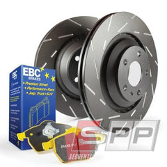 1 x ebcDP4680R EBC 10-13 Audi A3 2.0 TD Yellowstuff Rear Brake Pads 1 x ebcUSR909 EBC 97-98 Audi A4 Quattro 1.8 Turbo USR Slotted Rear Rotors