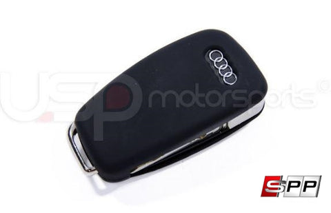 Key Fob Cover (Audi Models)- Black Silicone at Sequential Performance Parts for $ 6.99