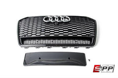 Aggressiv RS6 Front Grille, Blackout Mesh Style Grille, Audi C7.5 A6/S6
