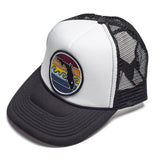FLORIDA SUNSET TRUCKER - BLACK - Sunshine State® Goods
