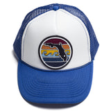 FLORIDA SUNSET TRUCKER - ROYAL BLUE - Sunshine State® Goods