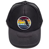 FLORIDA SUNSET TRUCKER - ALL BLACK - Sunshine State® Goods