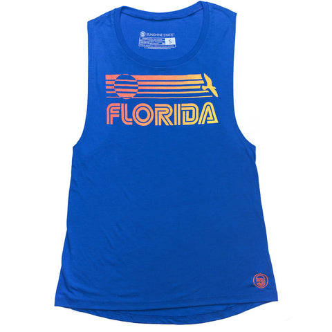 FLORIDA MUSCLE TANK - ROYAL - Sunshine State®