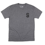 FLORIDA SUNSET TEE - HEATHER GREY