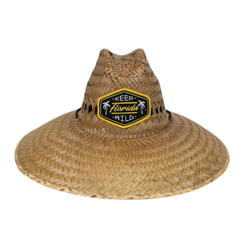 ADULT KEEP FL WILD STRAW HAT