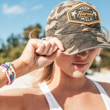 KEEP FL WILD UNSTRUCTURED HAT - CAMO
