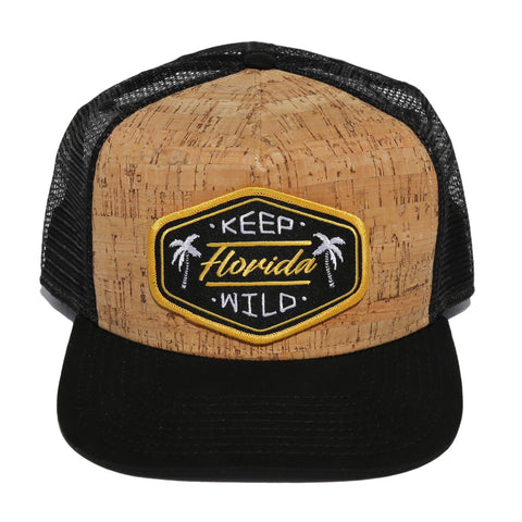 KEEP FL WILD TRUCKER - CORK - Sunshine State® Goods