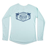 KEEP FLORIDA WILD LONG SLEEVE LADIES SOLAR SHIRT - Sunshine State® Goods